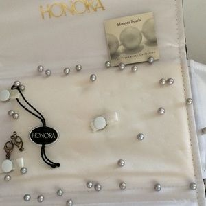 ❤️Vintage Honora Pearl Necklace Duo